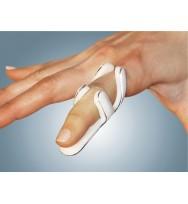 Νάρθηκας δακτύλου μεταλλικός, με επένδυση